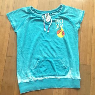 ロキシー(Roxy)の美品♪Roxy ロキシー スウェットカットソー、ビッグTシャツ(Tシャツ(長袖/七分))