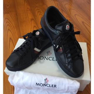 モンクレール(MONCLER)のモンクレール オールレザー スニーカー サイズ40‼️(スニーカー)