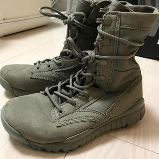 ナイキ(NIKE)のNIKE SFB 米軍 コンバットブーツ カーキ(ブーツ)