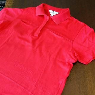 ジバンシィ(GIVENCHY)のゴルフジバンシィ ポロシャツ タグに印あり(ポロシャツ)