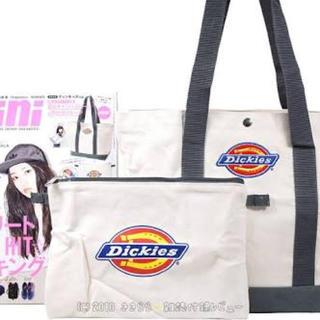 ディッキーズ(Dickies)の雑誌mini9月号付録(ハンドバッグ)