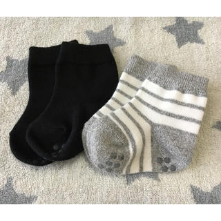 ムジルシリョウヒン(MUJI (無印良品))の未使用☆ベビー 靴下 2足組 11〜13(靴下/タイツ)