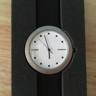 ニッサン(日産)の 希少!日産CUBE×コンランショップ コラボウォッチ 電池切れ(腕時計)