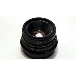 フジフイルム(富士フイルム)のmuk CL25FX 中華レンズ Chinar 25mm f1.8 FX(レンズ(単焦点))