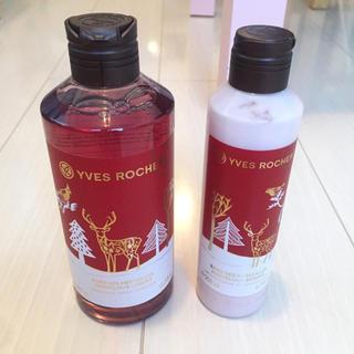 イヴロシェ(Yves Rocher)のYVES ROCHER ボディーソープ&ボディーローションセット(ボディソープ / 石鹸)