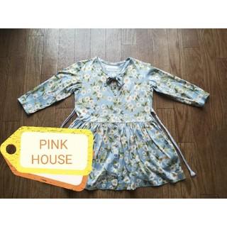 ピンクハウス(PINK HOUSE)のBABY PINK HOUSE ベビーピンクハウス 花柄★(ワンピース)