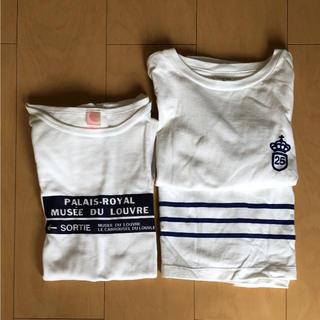 オールオーディナリーズ(ALL ORDINARIES)のTシャツ 2枚セット  ALL ORDINARIES  オールオーディナリーズ(Tシャツ(半袖/袖なし))
