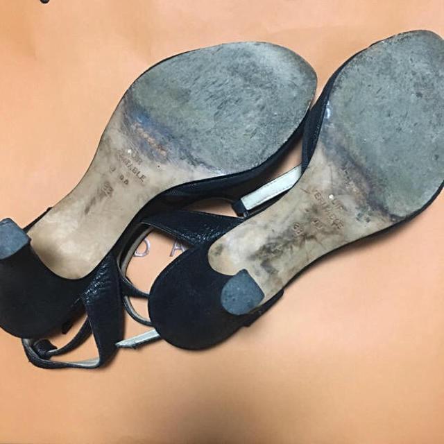repetto(レペット)のrepetto レペット ヒールサンダル サイズ38 レディースの靴/シューズ(サンダル)の商品写真