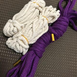 ロープ 10m、7m×2本  ★未使用・送料無料★(小道具)