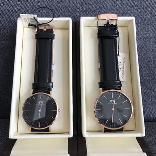 ダニエルウェリントン(Daniel Wellington)のDaniel Wellington ペアウォッ シンプル メンズ レディース(腕時計(アナログ))