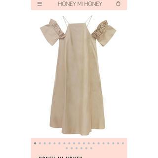 ハニーミーハニー(Honey mi Honey)の🍓honey mi honey オフショル ワンピ 🍓(ロングワンピース/マキシワンピース)