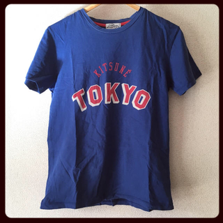 キツネ(KITSUNE)のkitsune tee(Tシャツ/カットソー(半袖/袖なし))