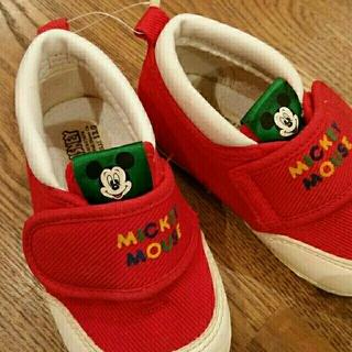 ディズニー(Disney)のミッキーマウス シューズ 13㎝(スニーカー)