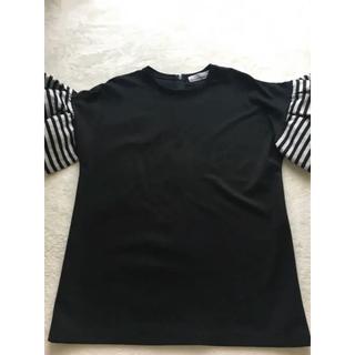 ドゥロワー(Drawer)の(みぃこ♡さま専用)BORDERS at BALCONY トップス (Tシャツ(半袖/袖なし))