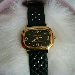 アッシュアンドダイアモンド(ASH&DIAMONDS)のASH&DIAMONDS×Angel Heart 限定コラボ腕時計 黒(腕時計)