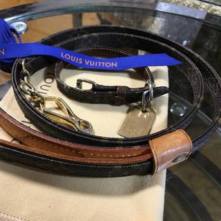 ルイヴィトン(LOUIS VUITTON)のルイヴィトン小型犬用リードと首輪(リード/首輪)