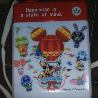 ディズニー(Disney)の【マイクロUSB】電池式充電器【ウォルト生誕110周年】(バッテリー/充電器)