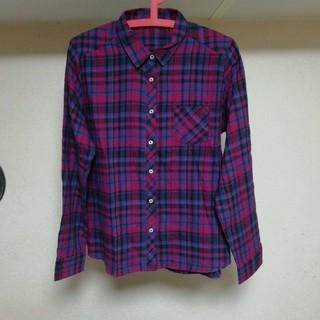 レディース チェックシャツ 長袖(シャツ/ブラウス(長袖/七分))