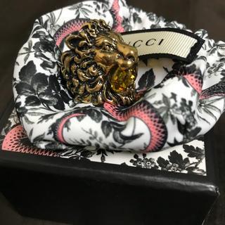 グッチ(Gucci)のGUCCI ライオンリング(リング(指輪))