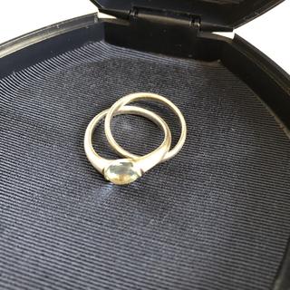 ヨンドシー(4℃)のplatinum25様専用☆4°C  シルバー2連リング(リング(指輪))