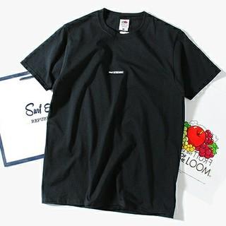 ロンハーマン(Ron Herman)の fruit of the loom Tシャツ 黒L+ロゴワッペンT白L(Tシャツ/カットソー(半袖/袖なし))