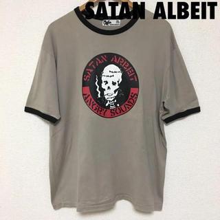 サタンアルバイト(SATAN ARBEIT)の3585 SATAN ARBEIT サタンアルバイト スカル Tシャツ(Tシャツ/カットソー(半袖/袖なし))