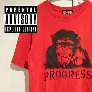 オクトパスアーミー(OCTOPUS ARMY)のoctopus army ADVISORY アドバイザリ 猿fuckTシャツ(Tシャツ/カットソー(半袖/袖なし))