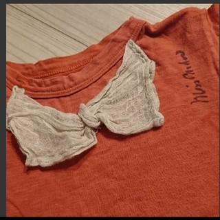 ゴートゥーハリウッド(GO TO HOLLYWOOD)のgo to hollywood リボンTシャツ 130(Tシャツ/カットソー)
