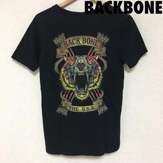 バックボーン(BACKBONE)の3658 BACKBONE バックボーン タイガー プリント Tシャツ(Tシャツ/カットソー(半袖/袖なし))