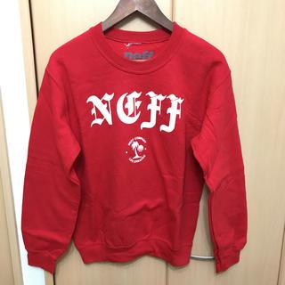 ネフ(Neff)のUSA購入 NEFF レッド トレーナー(トレーナー/スウェット)