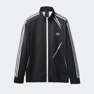 アレキサンダーワン(Alexander Wang)のadidas × Alexander wang track jacket 黒(ジャージ)