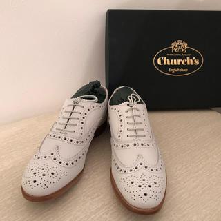 チャーチ(Church's)のチャーチホワイト36.5(ローファー/革靴)