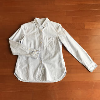 ムジルシリョウヒン(MUJI (無印良品))の無印良品 ストライプシャツ M(シャツ/ブラウス(長袖/七分))