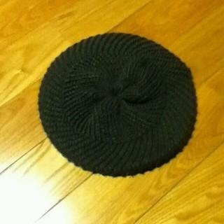 ジーユー(GU)のGU ニット ベレー帽(ハンチング/ベレー帽)