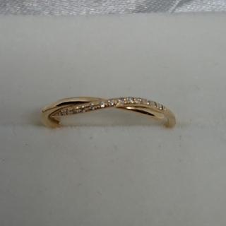 ココシュニック(COCOSHNIK)のココシュニック K10YGダイヤモンドリング(リング(指輪))