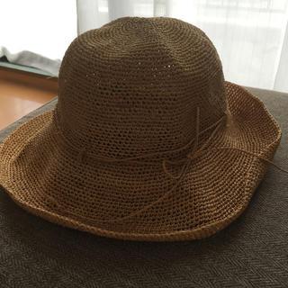 ムジルシリョウヒン(MUJI (無印良品))の無印良品 折りたためる麦わら帽子(麦わら帽子/ストローハット)