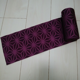 浴衣帯 紫(浴衣帯)
