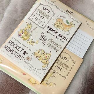 ポケモン(ポケモン)の★【ちーちゃん♡様専用】Pikachu Number025 レターセット★(カード/レター/ラッピング)