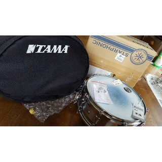 TAMA スネアドラム PSS146  ケース、チューニングキー付き 最終値下げ(スネア)