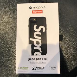 シュプリーム(Supreme)のMophie iPhone 8 Juice Pack Air 黒(バッテリー/充電器)