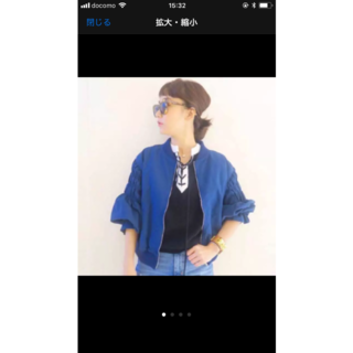 サカヨリ(sakayori)のミニタリージャケット(ミリタリージャケット)