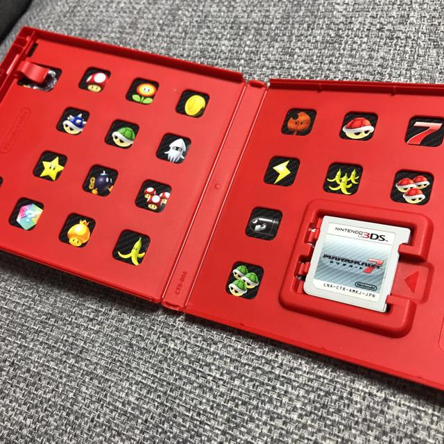 ニンテンドー3DS(ニンテンドー3DS)の3DS マリオカート7 エンタメ/ホビーのゲームソフト/ゲーム機本体(家庭用ゲームソフト)の商品写真