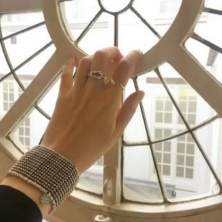 フィリップオーディベール(Philippe Audibert)の【美品】PHILIPPE AUDIBERT TOBIASリング シルバーアクセ(リング(指輪))