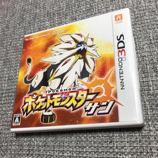 ニンテンドー3DS(ニンテンドー3DS)の3DS ポケットモンスター サン(家庭用ゲームソフト)