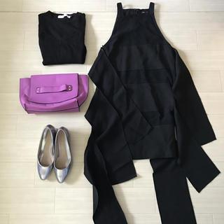 カメオコレクティブ(C/MEO COLLECTIVE)のC/MEO COLLECTIVE 新品 パネルフリルワンピース ドレス(ミニワンピース)