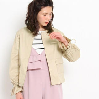 クチュールブローチ(Couture Brooch)のクチュールブローチ 袖ギャザーブルゾン(ブルゾン)