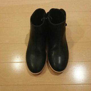 ザラ(ZARA)のZARA  ショートブーツ 19センチ 未使用(ブーツ)