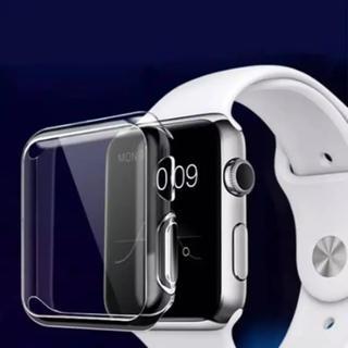 アップルウォッチ(Apple Watch)のapple watch ソフトクリアケース アップルウォッチ(その他)