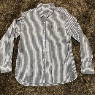 ムジルシリョウヒン(MUJI (無印良品))の無印良品 ストライプシャツ XL(シャツ/ブラウス(長袖/七分))