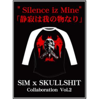 スカルシット(SKULL SHIT)の【新品】 SiM × SKULLSHIT ラグラン スカルシット シャツ 古着(ミュージシャン)